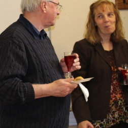 Nigel Todd and Anne Staines