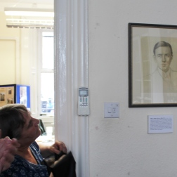 The portrait will remain in Regional Office